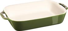 Staub Rektangulær Ovnsform 27 x 20 cm Grønn