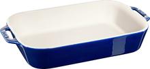 Staub Rektangulær Ovnsform 34 x 24 cm Blå