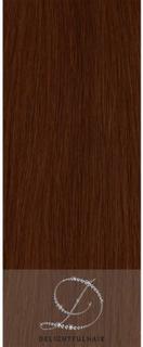 #33 Rödbrun, 50cm, 50g, Body Wave Tejphår