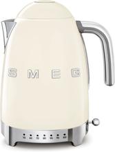 Smeg Vattenkokare 1,7 l med Variable Temperatur Creme