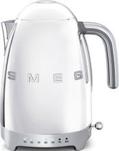 Smeg Vattenkokare 1,7 l med Variable Temperatur Stål