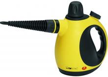 Clatronic DR 3653 Dampfreiniger Gelb mit Zubehör 1 stk + 9 stk
