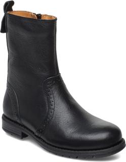 Boot Boots Støvler Sort Bisgaard