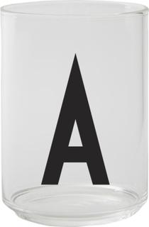 Design Letters Dricksglas, A