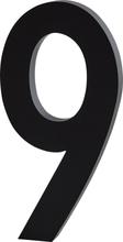 Design Letters Siffra Grå i Aluminium 100 mm, 9