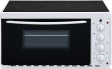 Wilfa Bänkspis Vit 2 Kokplattor EMC3000W