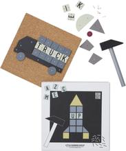 Design Letters Hammer Artist Lekset, Raket