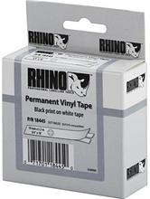 DYMO Rhino Professional merkkausteippi vinyyliä 19 mm valk