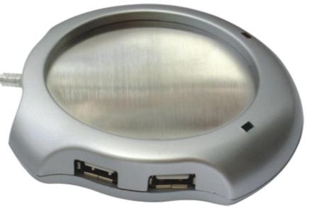 USB-Hubi & Kahvikupinlämmitin