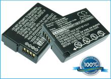 Panasonic DMW-BLD10 DMW-BLD10E DMW-BLD10PP akku - 850 mAh