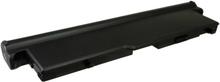 Lenovo ideapad S10-3t akku 6600 mAh - Musta