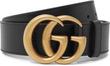 Gucci - 4cm Black Full-grain Leather Belt - Black