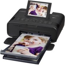 SELPHY CP1300 - Black Kompakt fotoprinter - Farve - Farvesublimering