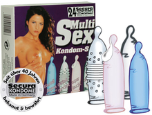 Secura - 24 blandade kondomer