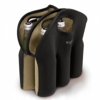 Built NY Six-Pack Tote Sixpakki cooleri musta