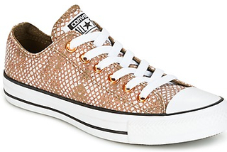Converse Sneakers CHUCK TAYLOR ALL STAR LUREX SNAKE OX LUREX SNAKE OX PALE PUTTY/M Converse