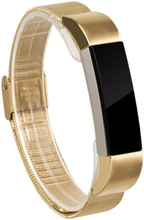 Milanese stainless steel watch strap for Fitbit Alta - Gold