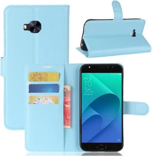 ASUS ZenFone 4 Selfie Pro (ZD552KL) Etui laget av kunstlær og silikon - Lys blått