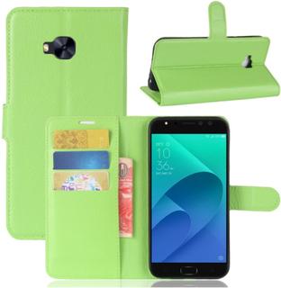 ASUS ZenFone 4 Selfie Pro (ZD552KL) Etui laget av kunstlær og silikon - Lys grønt