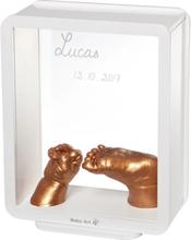 Baby Art Ram med avtryck My Baby 3D vit