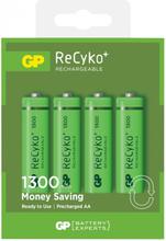 GP Batteries ReCyko AA 1300 Laddbara batterier 4-pack