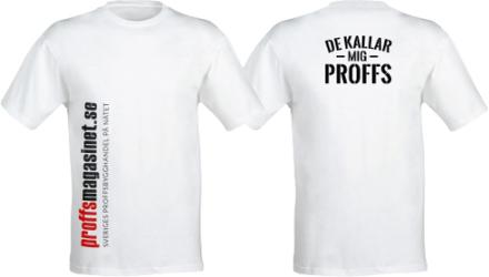 Proffsmagasinet Proffsmagasinet T-shirt Vit Vit, strl XL