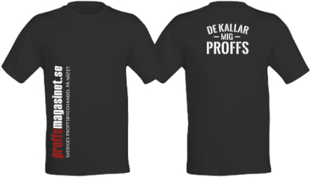 Proffsmagasinet Proffsmagasinet T-shirt Svart Svart, strl M