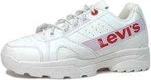 Levi´s Soho Chunky Sneakers med resårsnörning, vit