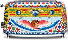Smeg Dolce & Gabbana brödrost 4 skivor