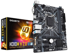 Moderkort Gigabyte H310M H 2.0 mATX DDR4 LGA1151