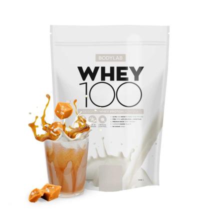 BodyLab Whey 100 Proteinpulver Salted Caramel (1 kg)