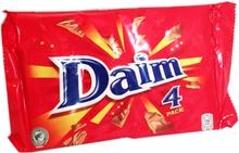 Choklad Daim 4-pack - 69% rabatt