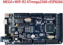 Mega+WiFi R3 ATmega 2560 UNO+WiFi R3 ATmega 328P Module ESP8266 32Mb memory USB-TTL CH340G Compatible for Arduino NodeMCU WeMos