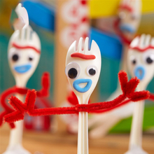 DIY 14cm Forky Toy Story 4 Woody Buzz Lightyear Bunny&Ducky Soft Stuffed Doll Figure Cartoon Toys for Children Gift