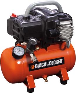 BLACK+DECKER Luftkompressor 6 L NKBB304BND008