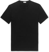 Dolce & Gabbana - Stretch-cotton Jersey T-shirt - Black - L,Dolce & Gabbana - Stretch-cotton Jersey T-shirt - Black - M,Dolce & Gabbana - Stretch-cotton Jersey T-shirt - Black - XL,Dolce & Gabbana - Stretch-cotton Jersey T-shirt - Black - XXL,Dolce & Gabb