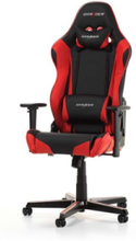 RACING R0-NR Krzes?o gamingowe - Czarno-czerwony - Skóra PU - 100 kg
