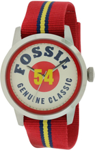 3fb98a5e6e5 Fossil Fossile Townsman Nylon Herre Watch FS4922 rustfrit stål/quartz