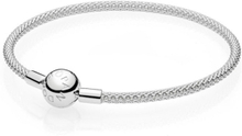 Pandora Silver Mesh Armband