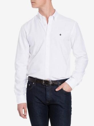 Morris Oxford Button Down Kauluspaidat White