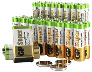 GP BATTERIES Batteripaket, 37 st batterier för hem och kontor. GP-B2B-P1 Replace: N/AGP BATTERIES Batteripaket, 37 st batterier för hem och kontor.