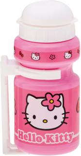 Bike Fashion Hello Kitty Drinking Bottle 300 ml med hållare Flickor pink 2019 Vattenflaskor