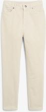 Corduroy trousers - Beige