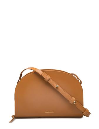 Galax Curve Evening Bag Bags Small Shoulder Bags/crossbody Bags Brun ROYAL REPUBLIQ