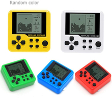 26 Classic Games Child Tetris Pocket Game Consoles Portable Mini Electronic Pets Games Machine Tetris Brick Gaming Keychain Toys
