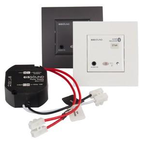 EIS In-Wall BT Audio Rec. Hvit + Strømforsyning