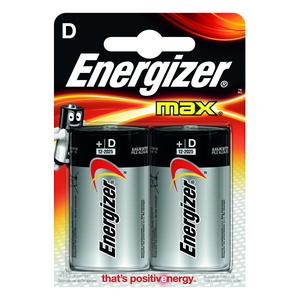 Batteri LR20 D/E95 2pk ENERGIZER MAX