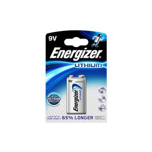 Batteri Ultimate Lithium 9v 1pk Energizer