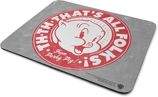 Porky Pig - That's All Folks! Mouse Pad, Mouse Pad