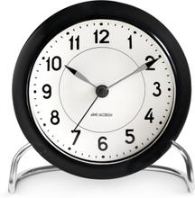 Arne Jacobsen Station Table Clock med alarm